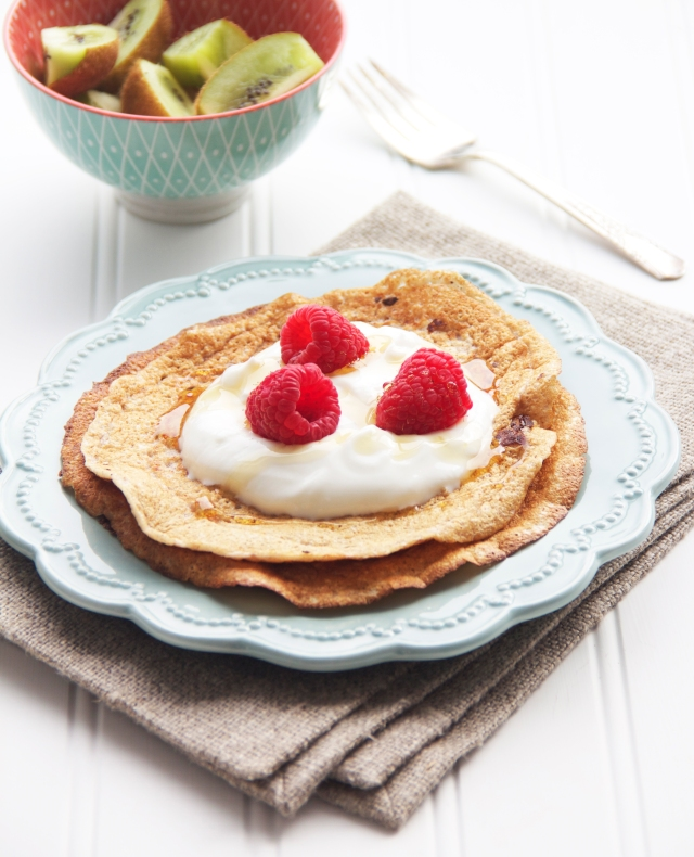 Crepes proteinees